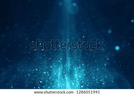Abstract blue blurry light background