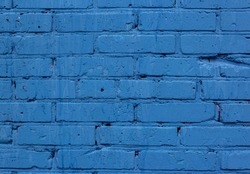 Abstract blue color brick wall texture for background. Textured Background Illustration. Abstract weathered texture stained old stucco and aged paint blue brick wall background. Architecture