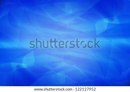abstract blue curves background.