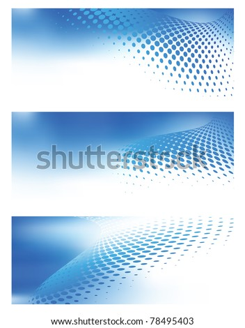 Abstract blue design backgrounds jpg templates for various artworks, graphics, cards, banners, ads and much more. Plenty of space for text.
