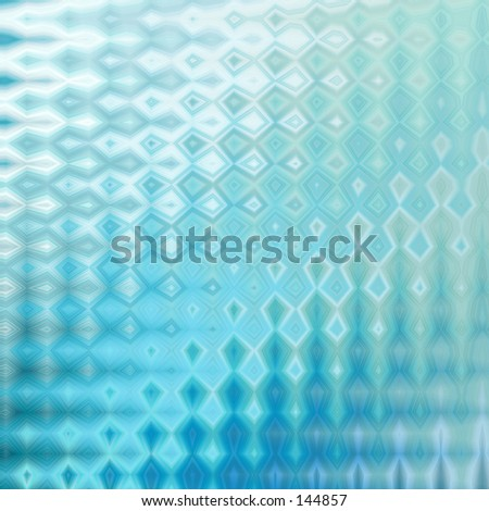 Abstract - Blue glass effect
