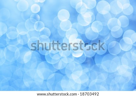 Abstract blue light