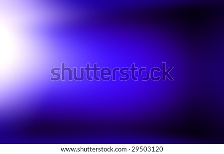 Abstract blue light background with gradient.