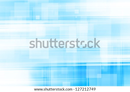 abstract blue lines square background