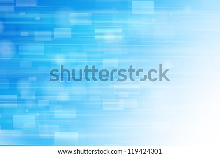 Abstract blue tech background.