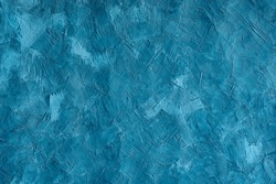 abstract blue texture background, modern loft style decor, grunge concrete wall , rough cement surface