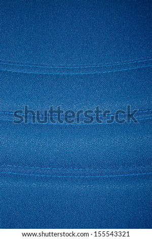 abstract blue tone fabric pattern theme on wall and furniture cover at general home decoration