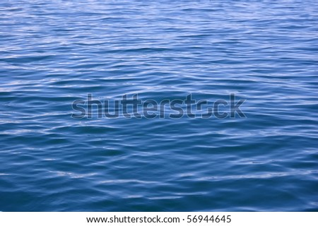 Abstract blue water sea, good for background