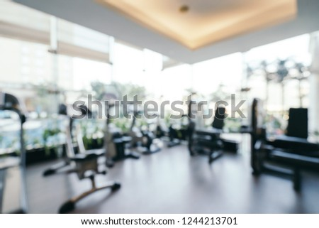 Free photos abstract blur fitness gym room background avopix