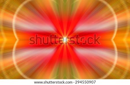 Abstract blur background. Autumn or summer abstract nature background. Natural background blurring with sun rays. Beautiful nature blur bokeh. Blurred light. Religion, yoga, karma, aura, light, glow