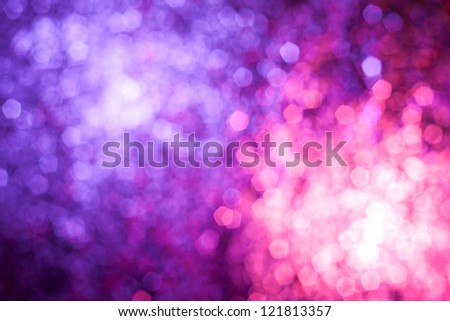 Abstract blur background looks like awesome fireworks