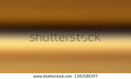 Abstract blur background. Ochre brown color. Illustration graphic design, banner, poster or party flyer. Light brown. Copper orange. Zdjęcia stock ©