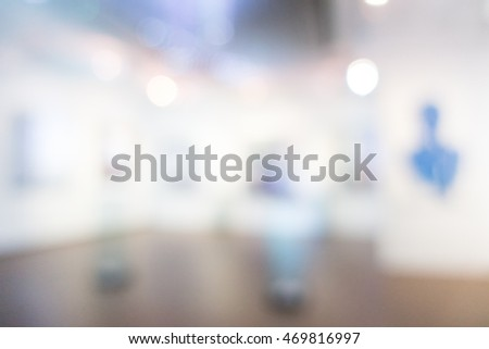 Abstract blur beautiful luxury hotel and lobby interior for background #469816997