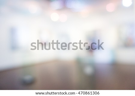 Abstract blur beautiful luxury hotel and lobby interior for background #470861306