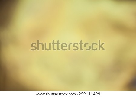 Abstract blur gold color background