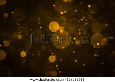 Abstract blur gold sparkle bokeh background #629296595