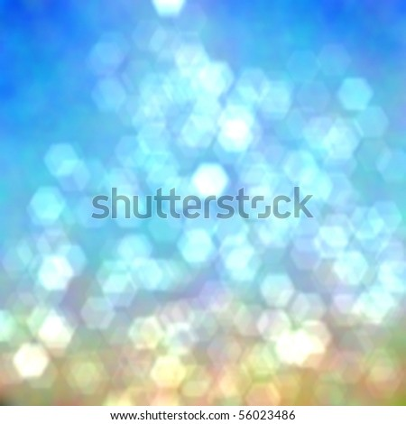 Abstract Blur of Sea Shore Shot in Manual Mode with Bokeh