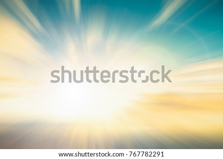 Abstract Blur peace sunshine light in summer scene background concept for easter day, christian holy spirit life backdrop Art of hope india defocus catholic in soft pastel color used for new book.