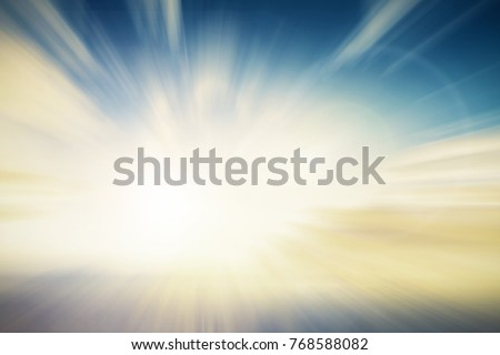 Abstract Blur peace sunshine light in summer scene background concept for easter day, christian holy spirit life backdrop Art of hope india defocus catholic in soft pastel color used for new book. #768588082