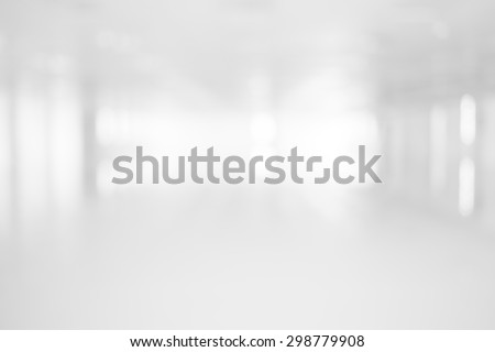 Abstract Blur white room  for background - Shutterstock ID 298779908