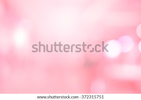 abstract blurred beautiful soft pink background:blurry glittering sparkle wallpaper with white bokeh circle light:blur valentine\'s day backdrop concept:lovely flash shining display for banner,template