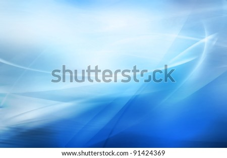 Stock Photo abstract blurred blue background with different shades of color