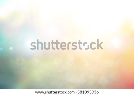 Abstract blurred color nature background #581095936