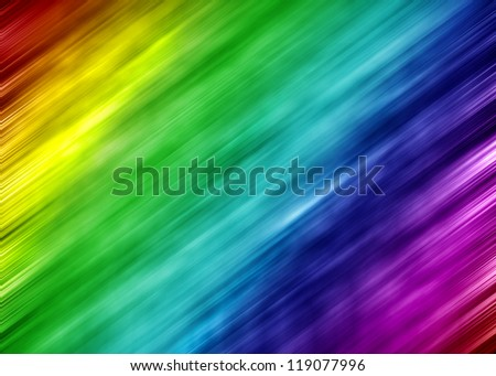 Abstract blurred colorful spectrum and color motion