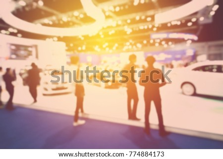 abstract blurred event with people for background #774884173