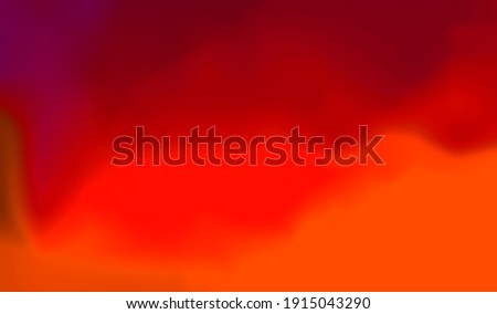 Abstract blurred gradient mesh background texture.Colorful smooth.Wallpaper,banner,business card design, book Illustration,print,frame.Watercolor red orange colors.Paper.Blood.Fire.Sunset.