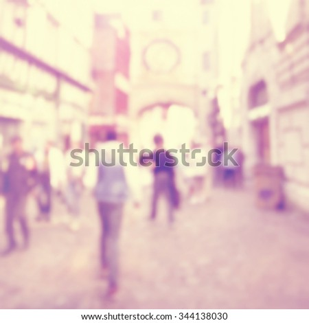 abstract blurred image of a...