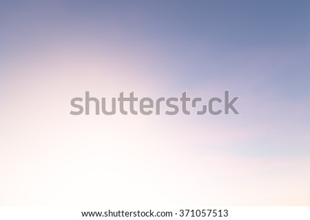Abstract Blurred nature scene backdrop concept for happy new year 2018, empty text theme, holy spirit, The art of defocus ocean asia sea dying soft pastel color used for montage fresh clean sky beach. #371057513