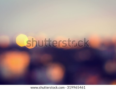 Abstract blurry bokeh background. Defocused and colorful. #319965461