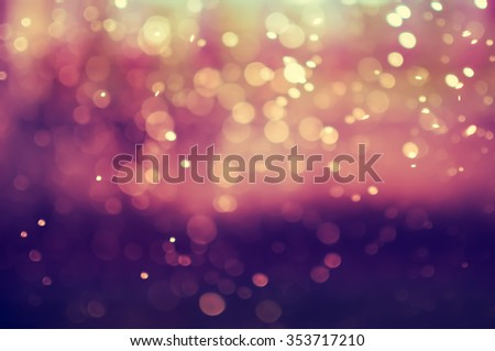 Abstract bokeh background - Shutterstock ID 353717210