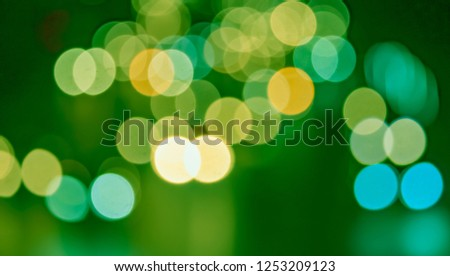 Abstract bokeh background Christmas and New Year  - Shutterstock ID 1253209123