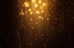 Abstract bokeh background. Defocused glitter lighting image for art and design.