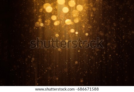 Abstract bokeh background. Defocused glitter lighting image for art and design.