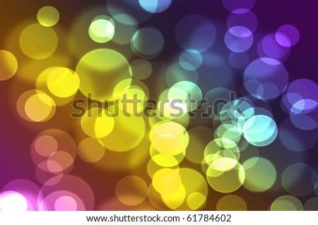Abstract bokeh background illustration bright