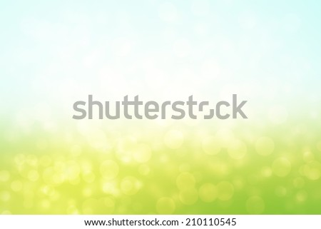 abstract bokeh glitter golden lights background, abstract landscape