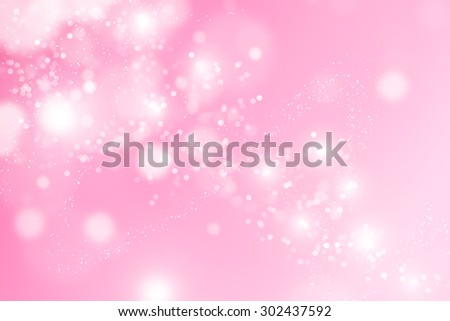 Abstract bokeh Pink background.