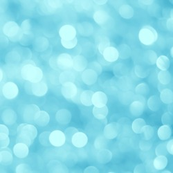 abstract bright blur blue glitter background for Christmas day decoration concept