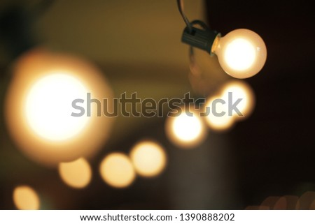 Abstract Bright bulb electric electricity #1390888202