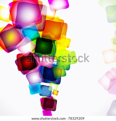 Abstract bright colorful background.