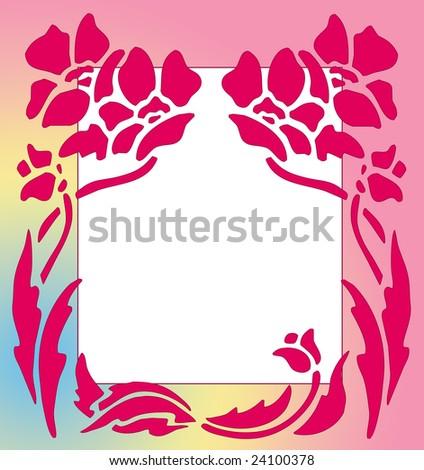 flower clip art images. Silhouette Flower Clip Art