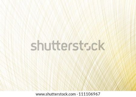 Abstract brown arcs like a fiber, white background.