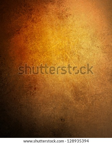 abstract brown background gold warm color or brown paper black vignette border frame vintage grunge background texture distressed aged layout design of dark sepia graphic art paint wallpaper for web