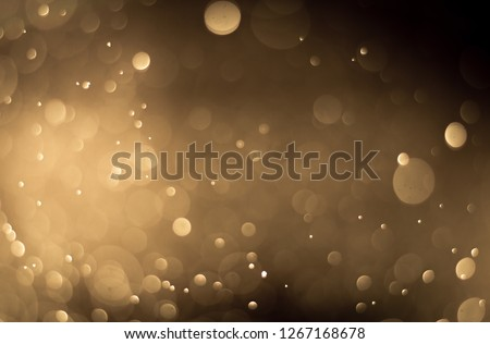 abstract brown golden background bokeh light effect #1267168678