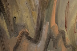 abstract brown oil paint background