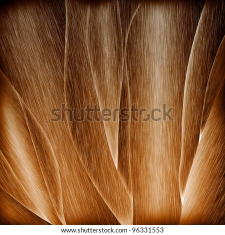 Abstract Brown Wood Texture Lines