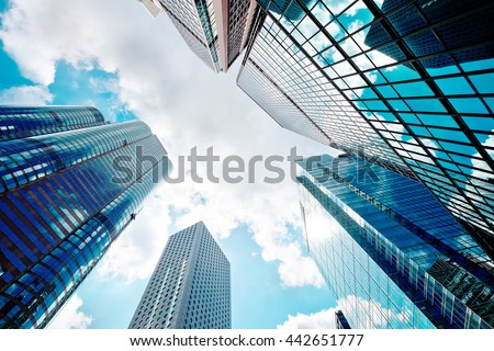 Abstract buildings background #442651777